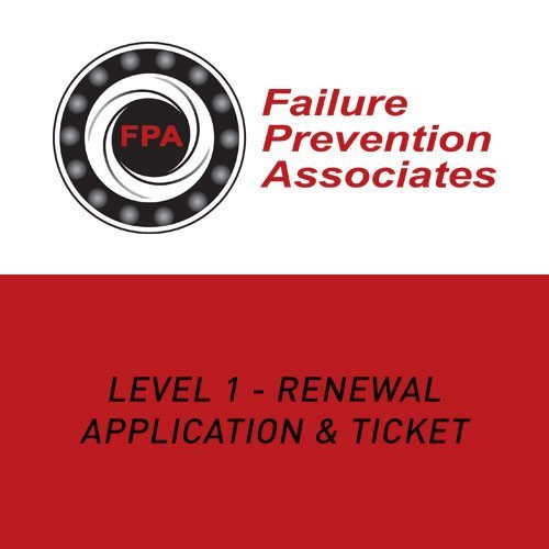 Level 1 – Renewal Application and Ticket