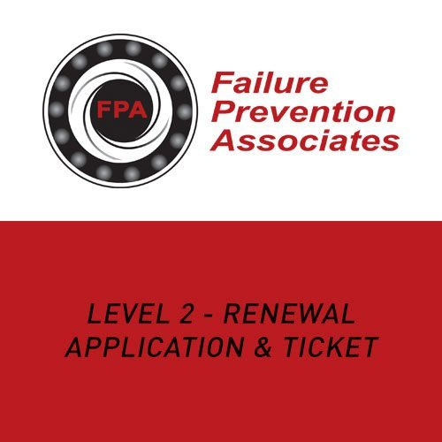 Level 2 – Renewal Application and Ticket