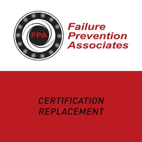 Certification Replacement